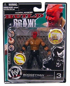 WWE Wrestling Build N' Brawl Series 3 Mini 4 Inch Action Figure Boogeyman [With Cage Wall]
