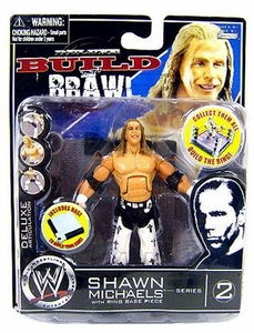 WWE Wrestling Build N' Brawl Series 2 Mini 4 Inch Action Figure Shawn Michaels [Ring Base Piece]