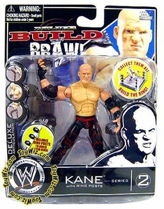 WWE Wrestling Build N' Brawl Series 2 Mini 4 Inch Action Figure Kane [Ring Posts]