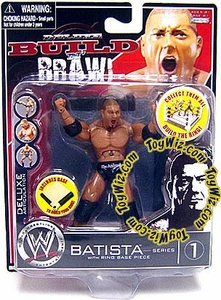 WWE Wrestling Build N' Brawl Series 1 Mini 4 Inch Action Figure Batista
