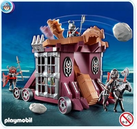Playmobil Dragon Land Set #4837 Giant Catapult with Cell