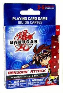Bakugan Battle Brawlers Game Bakugan Attack Playing Card Game