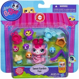 Littlest Pet Shop Playset Sweet Garden Fun