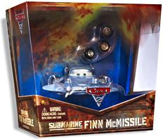 Disney / Pixar CARS 2 Movie D23 Expo Exclusive Submarine Finn McMissile [Double Ransburg Paint!]