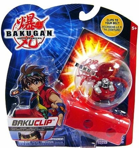 Bakugan B2 Bigger Brawlers Red Bakugan Clip [Random Bakugan Figure]