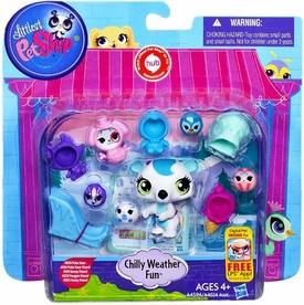 Littlest Pet Shop Playset Chilly Weather Fun