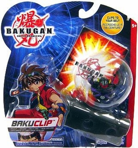 Bakugan B2 Bigger Brawlers Black Bakugan Clip [Random Bakugan Figure]