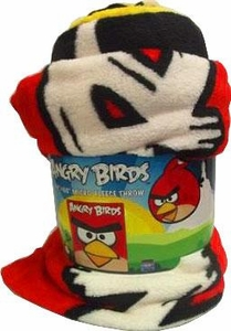 Angry Birds Plush Blanket 50