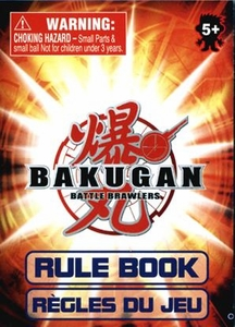 Bakugan Battle Brawlers Paper Rulebook