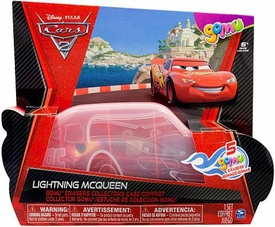 Disney / Pixar CARS 2 Movie Exclusive Gomu Erasers Lightning McQueen Collector's Case