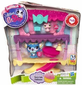 Littlest Pet Shop Playset Party Cake Clubhouse