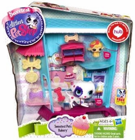 Littlest Pet Shop Playset Sweetest Pets Bakery