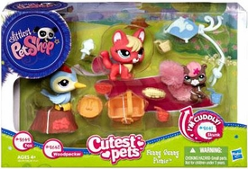 Littlest Pet Shop Cutest Pets Every Day Adventure Playset Funny Sunny Picnic