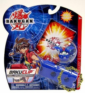 Bakugan Battle Brawlers Game BakuClip Aquos [Blue] [Random Bakugan Figure]