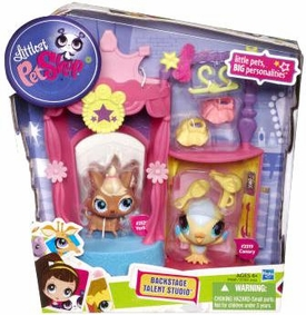 Littlest Pet Shop Playset Backstage Talent Studio