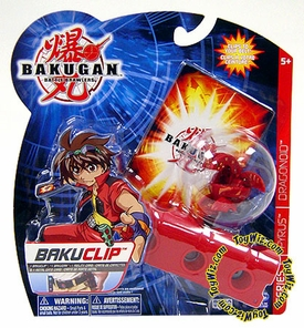 Bakugan Battle Brawlers Game BakuClip Nova 12 [Red] [Random Bakugan Figure]