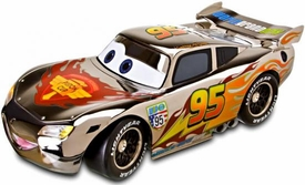 Disney / Pixar CARS 2 Movie D23 Exclusive 1:24 Scale Silver [Chrome] Lightning McQueen Only 250 Made!