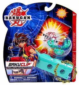 Bakugan Battle Brawlers Game BakuClip Zephyroz [Green] [Random Bakugan Figure]