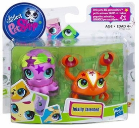 Littlest Pet Shop Totally Talented Pets Crab & Octopus