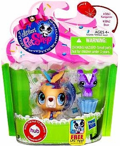 Littlest Pet Shop Totally Talented Pets Kangaroo & Deer Friend