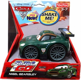 Disney / Pixar CARS 2 Movie Shake 'N Go Nigel Gearsley