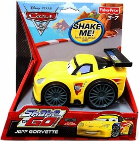 Disney / Pixar CARS 2 Movie Shake 'N Go Jeff Gorvette