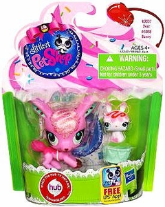 Littlest Pet Shop Totally Talented Pets Deer & Bunny Friend