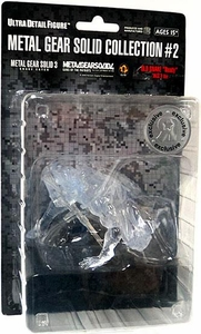 Metal Gear Solid Collection #2 Exclusive Series 3 Clear Stealth Camouflage Snake