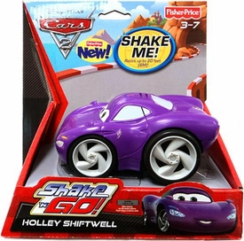 Disney / Pixar CARS 2 Movie Shake 'N Go Holley Shiftwell