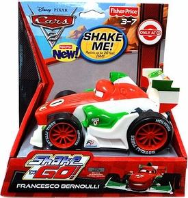 Disney / Pixar CARS 2 Movie Exclusive Shake 'N Go Francesco Bernoulli