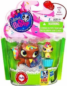 Littlest Pet Shop Totally Talented Pets Cat & Kangaroo Friend