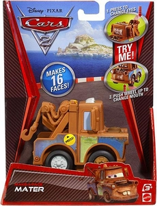 Disney / Pixar CARS 2 Movie Vehicle Make-A-Face Mater