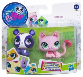 Littlest Pet Shop Totally Talented Pets Panda & Cat