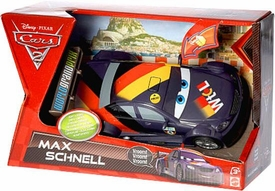 Disney / Pixar CARS 2 Movie Lights & Sounds 1:24 Scale Vehicle Max Schnell