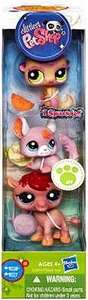 Littlest Pet Shop 3-Pack Meerkat, Chinchilla & Camel