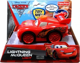 Disney / Pixar CARS 2 Movie Flashlight with Sounds Lightning McQueen Light