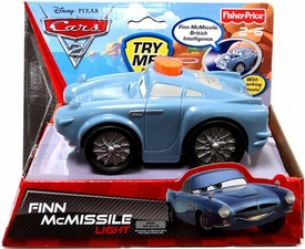 Disney / Pixar CARS 2 Movie Flashlight with Sounds Finn McMissile Light