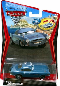 Disney / Pixar CARS 2 Movie 1:55 Scale Pull Back Racer Finn McMissile