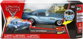 Disney / Pixar CARS 2 Movie Air Hogs R/C 1:24 Scale Moving Eyes Finn McMissile