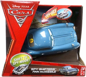 Disney / Pixar CARS 2 Movie Spy Shifters Finn McMissile