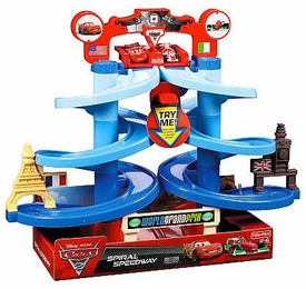 Disney / Pixar CARS 2 Movie Playset Spiral Speedway