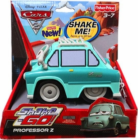 Disney / Pixar CARS 2 Movie Shake 'N Go Professor Z