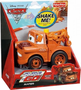 Disney / Pixar CARS 2 Movie Shake 'N Go Mater