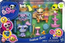 Littlest Pet Shop Figures Playset Sunshine Stroll