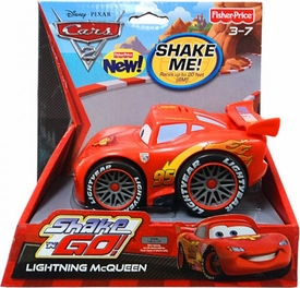 Disney / Pixar CARS 2 Movie Shake 'N Go Lightning McQueen