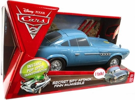Disney / Pixar CARS 2 Movie Secret Spy Attack Finn McMissile