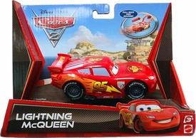 Disney / Pixar CARS 2 Movie Pull Back Racer Lightning McQueen