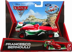 Disney / Pixar CARS 2 Movie Pull Back Racer Francesco Bernoulli