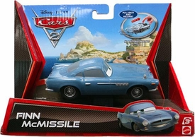 Disney / Pixar CARS 2 Movie Pull Back Racer Finn McMissile