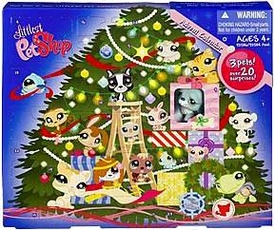 Littlest Pet Shop Exclusive 2009 Advent Calendar with 3 Pets [Dog, Bunny & Mouse]